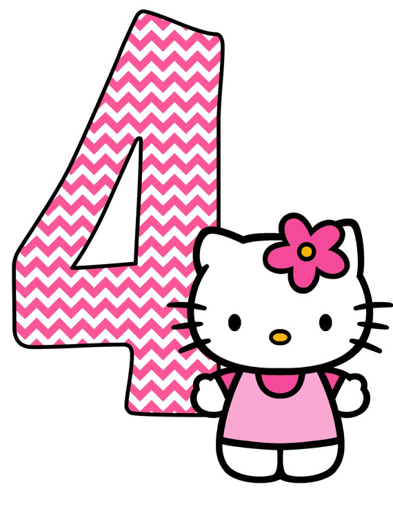 570x738 Hello Kitty Party Clipart