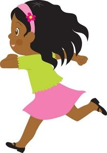 210x300 Running Clipart Image