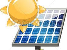 220x165 Solar Panel Clipart Sun Solar Panel Sun And Solar Panel Isolated