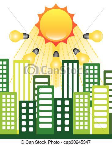 365x470 Solar Energy Design, Vector Illustration Eps10 Graphic Eps Vector