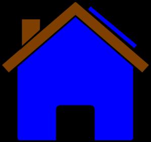 299x282 Blue House And Solar Panel Clip Art