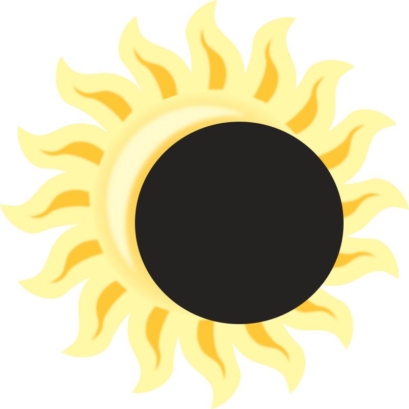 Solar Eclipse Clipart