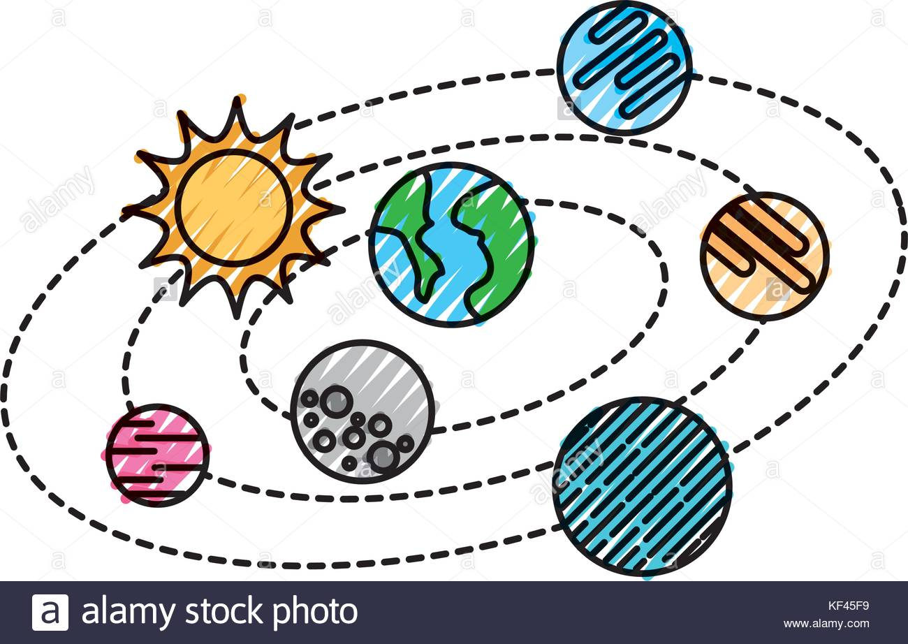 1300x922 Solar System Science Clip Art. Planets Of Solar System