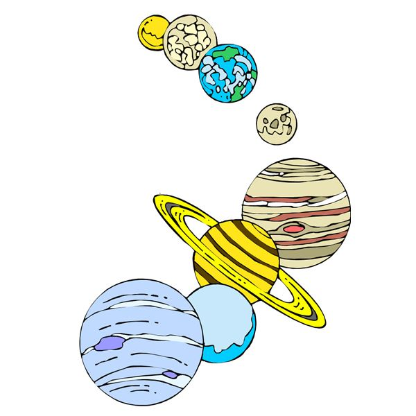 600x600 Art Lesson Ideas On The Solar System For Elementary Students
