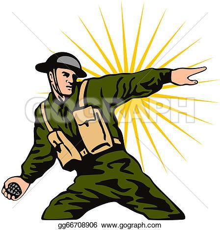 448x470 Grenade Soldier Clipart, Explore Pictures