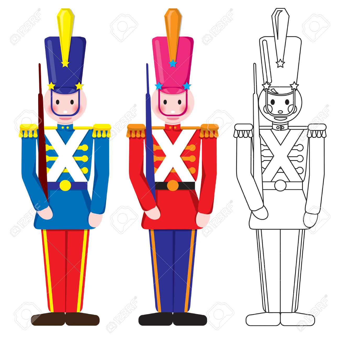 1300x1300 Toy Soldier Clipart