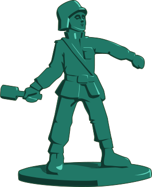 300x368 Toy Soldier By @tzunghaor, Army, Clip Art, Clipart, Grenade