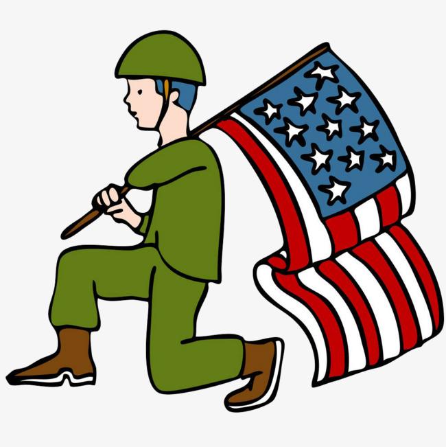 650x651 Kneel Soldiers, Cartoon Hand Drawing, Swear An Oath, Allegiance