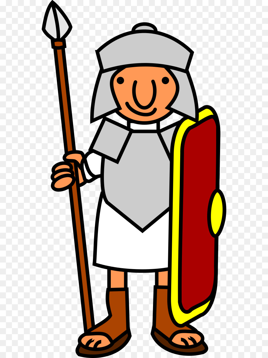 900x1200 Ancient Rome Roman Army Soldier Legionary Clip Art