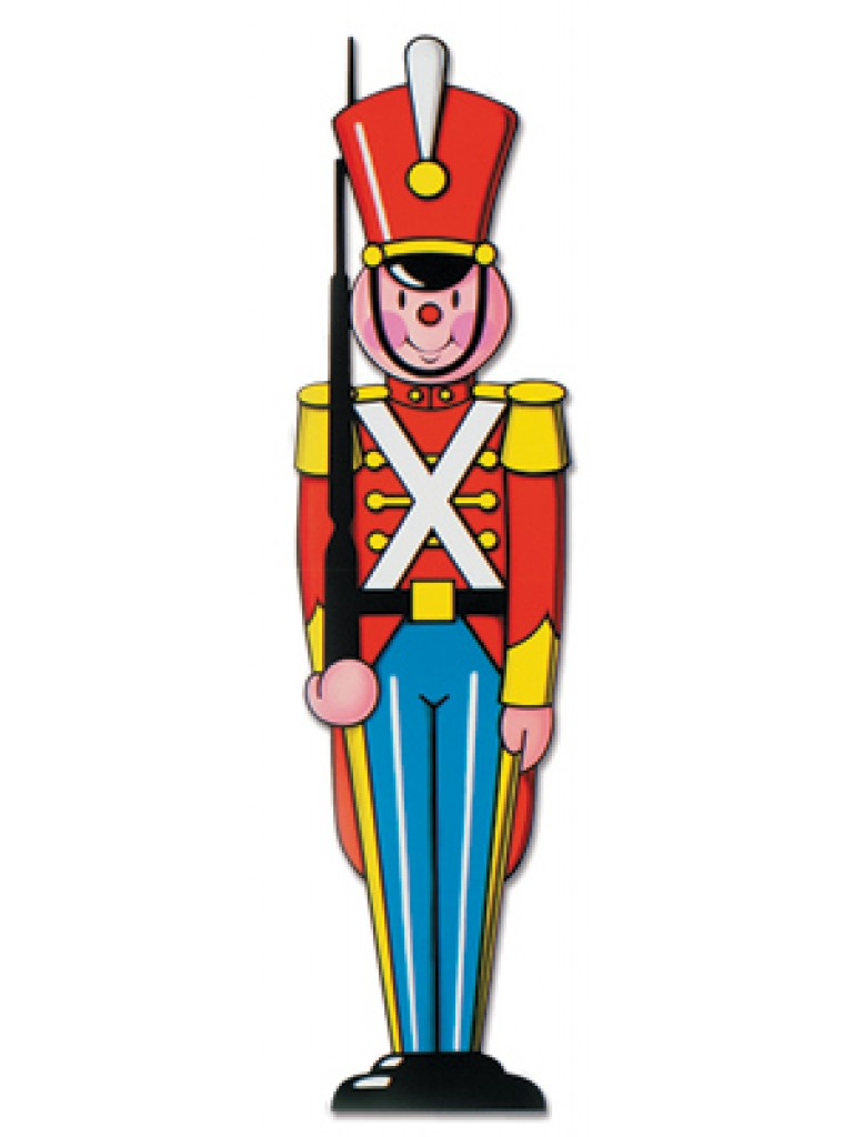 768x1024 Christmas Toy Soldier Clip Art