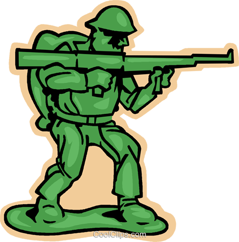 473x480 Army Clipart Toy Soldier