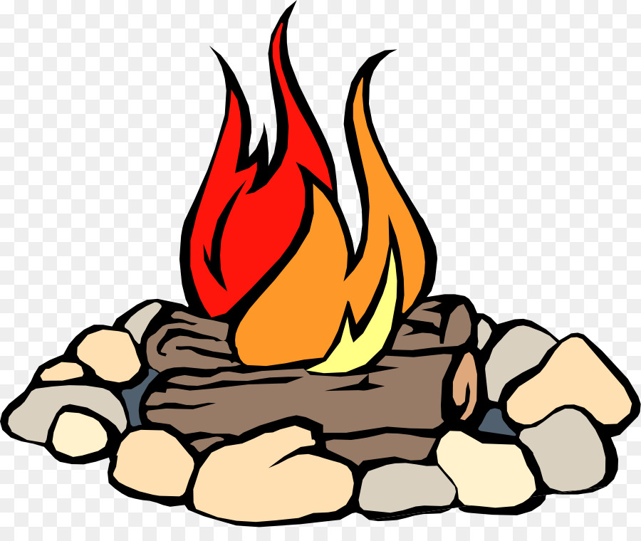 900x760 Campfire Camping Clip Art