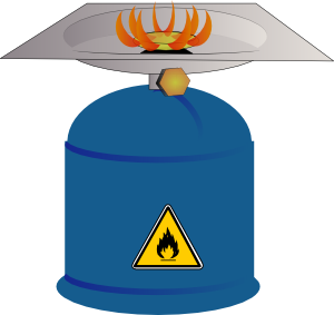 300x283 Camping Gas Burner Clip Art