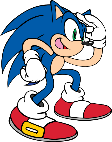 474x598 Sa Sonic Clip Art