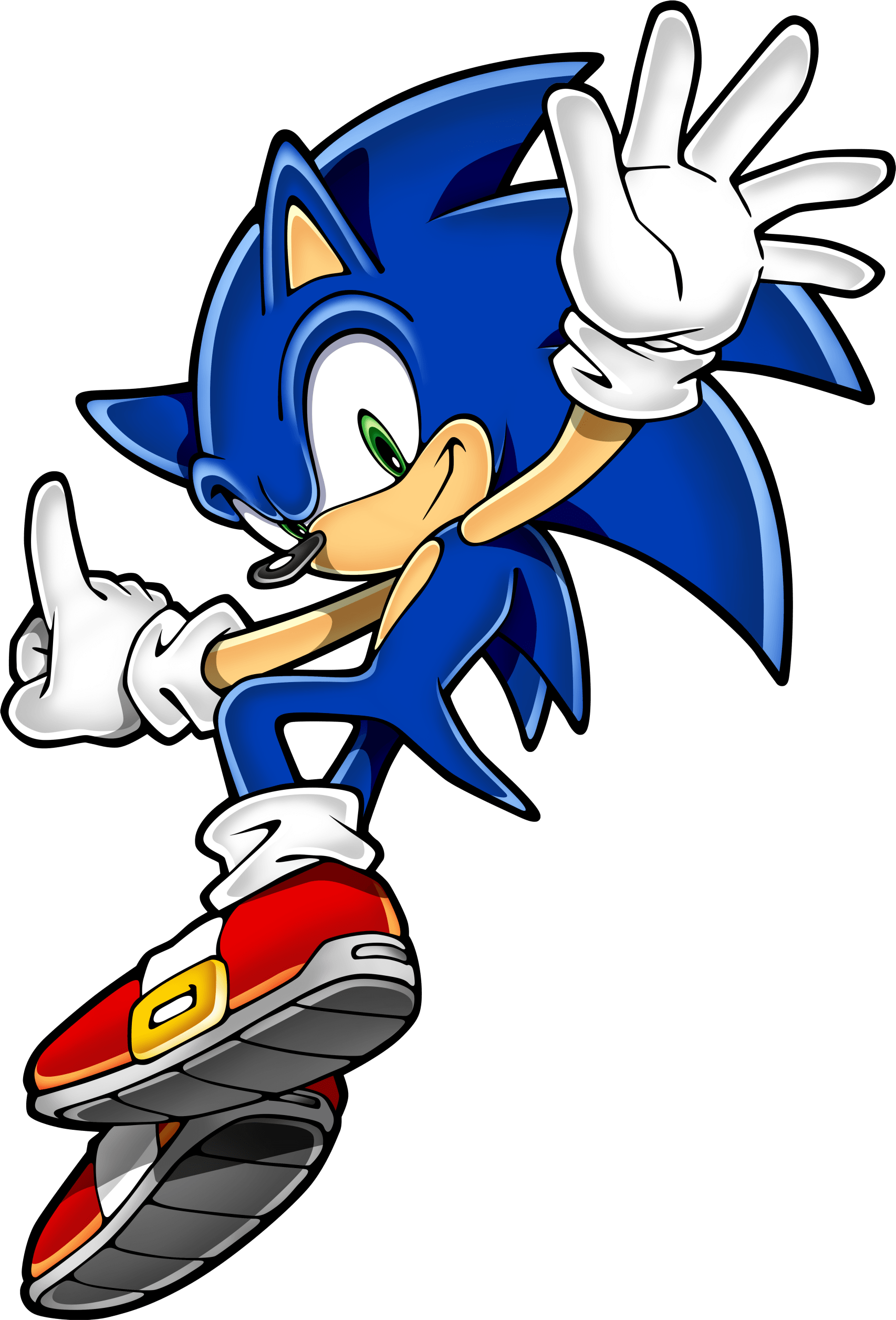1706x2512 Sonic Hedgehog Jumping Transparent Png