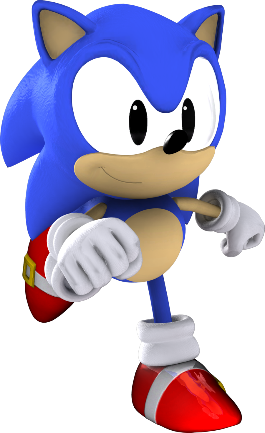 900x1467 Sonic The Hedgehog Clipart Classic