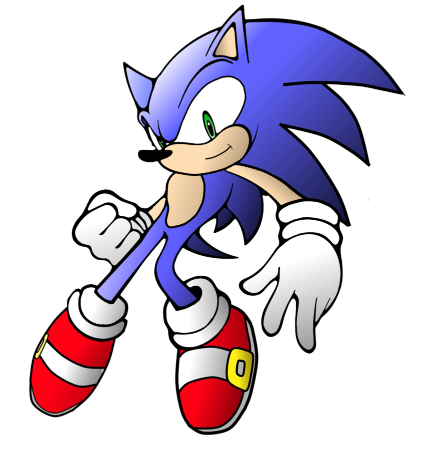 842x949 Sonic Clipart By Sonic24fanart Clipart Panda