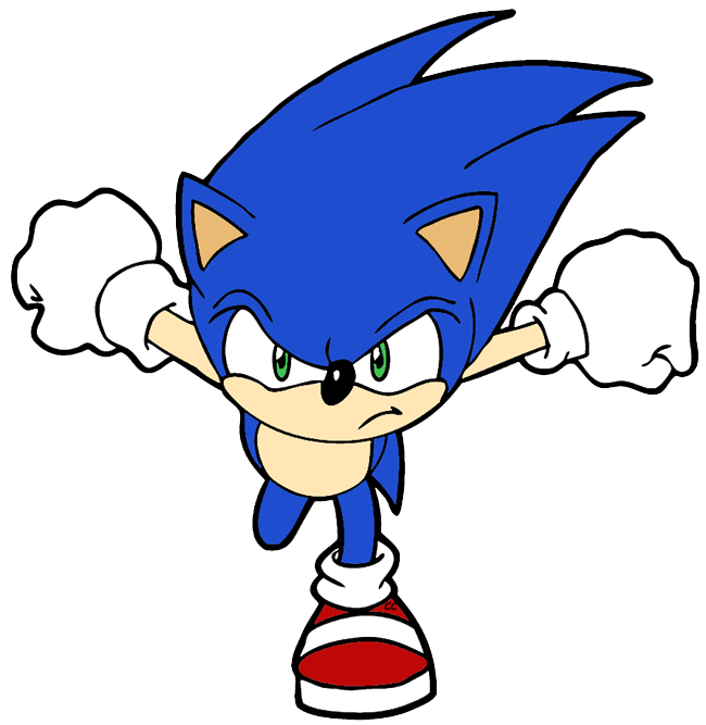 650x667 Sonic Clipart Sonic The Hedgehog Clip Art Cartoon Clip Art Clipart