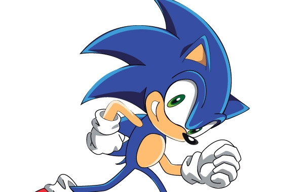 600x380 Free Download Of Sonic The Hedgehog Vector Graphic