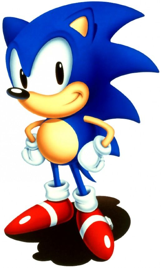 520x858 Sonic Hedgehog Kids Colouring Pictures To Print And Colour Online