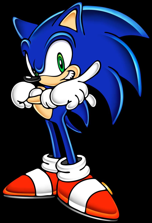 854x1251 Sonic The Hedgehog Clipart Yuji Uekawa