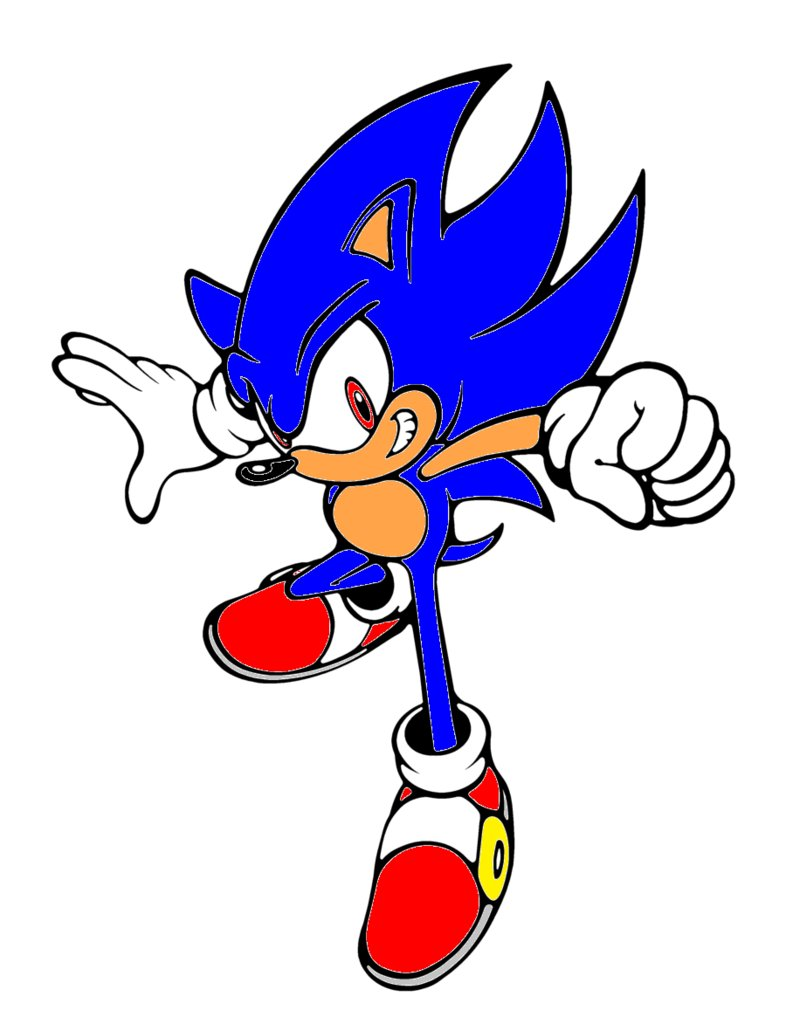 786x1017 Sonic Clip Art Free Clipart Images 8