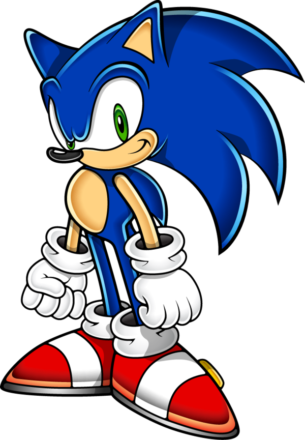 600x865 Sonic The Hedgehog (Sonic Adventure Art Style) By Sonic Gal007