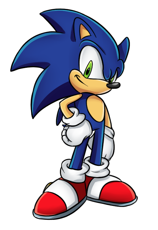 550x800 Sonic The Hedgehog By Brimms