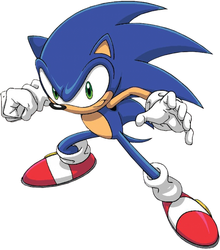 899x1024 Sonic The Hedgehog Clipart Original