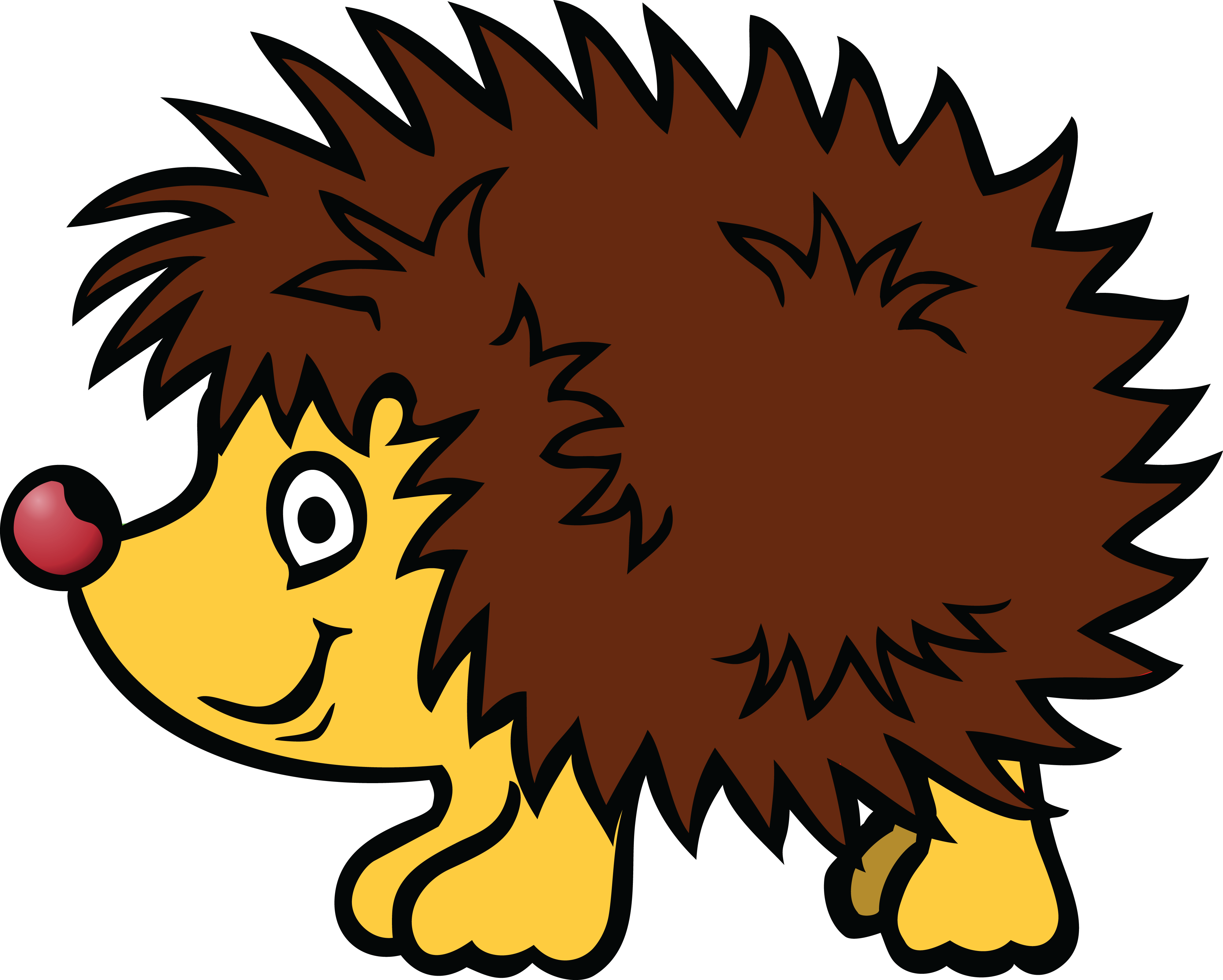 sonic the hedgehog clipart free at getdrawings com free for rh getdrawings com hedgehog clipart images hedgehog clipart pinterest