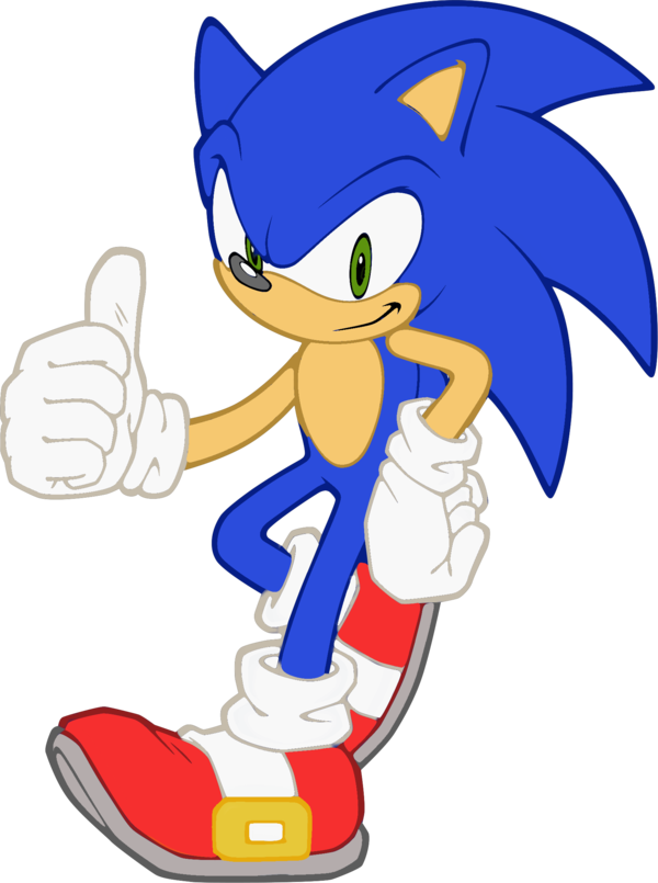 600x805 Sonic Vector By Snicket324