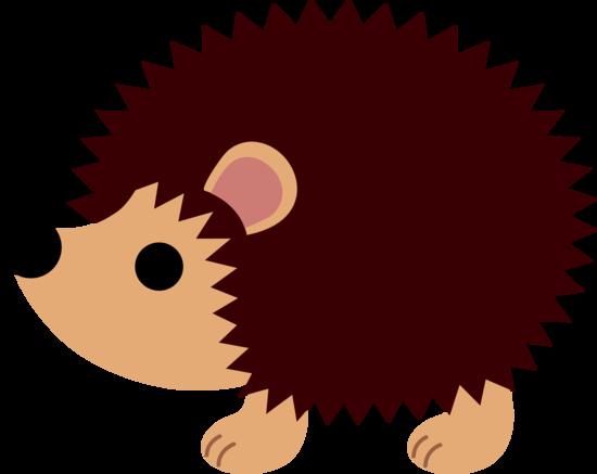 550x437 Hedgehog Clipart