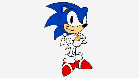 454x255 21 Sonic The Hedgehog Coloring Pages