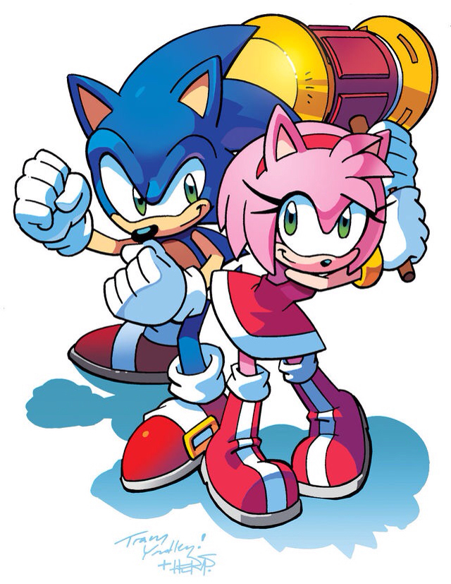 640x827 Sonic Cartoon Coloring Pages