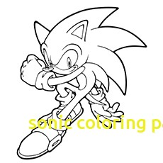 230x230 Sonic Coloring Pages With 21 Sonic The Hedgehog Coloring Pages