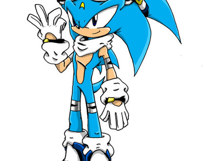 440x330 sonic style coloring pages