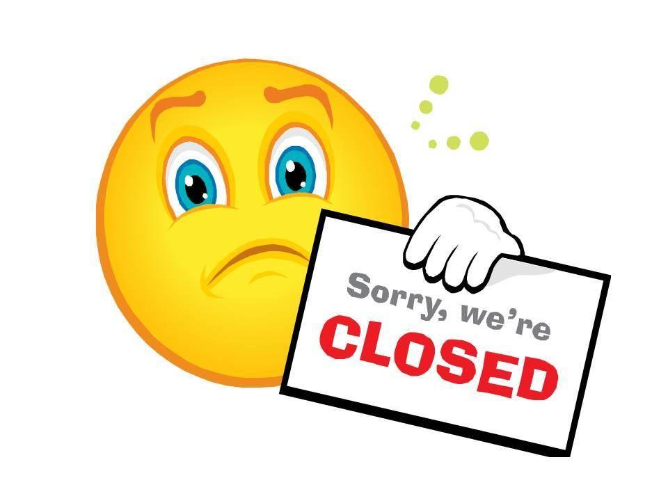 960x720 Clip Art Closed Store Clipart