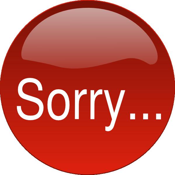 600x600 Sorry Clip Art