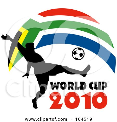 450x470 Royalty Free (Rf) South Africa Soccer Clipart, Illustrations