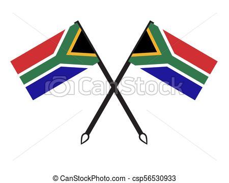 450x360 South Africa Flag Vectors
