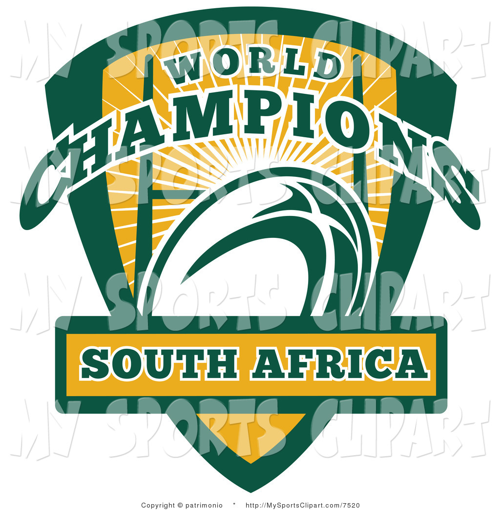 1024x1044 Sports Clip Art Of A South Africa Rugby Shield By Patrimonio