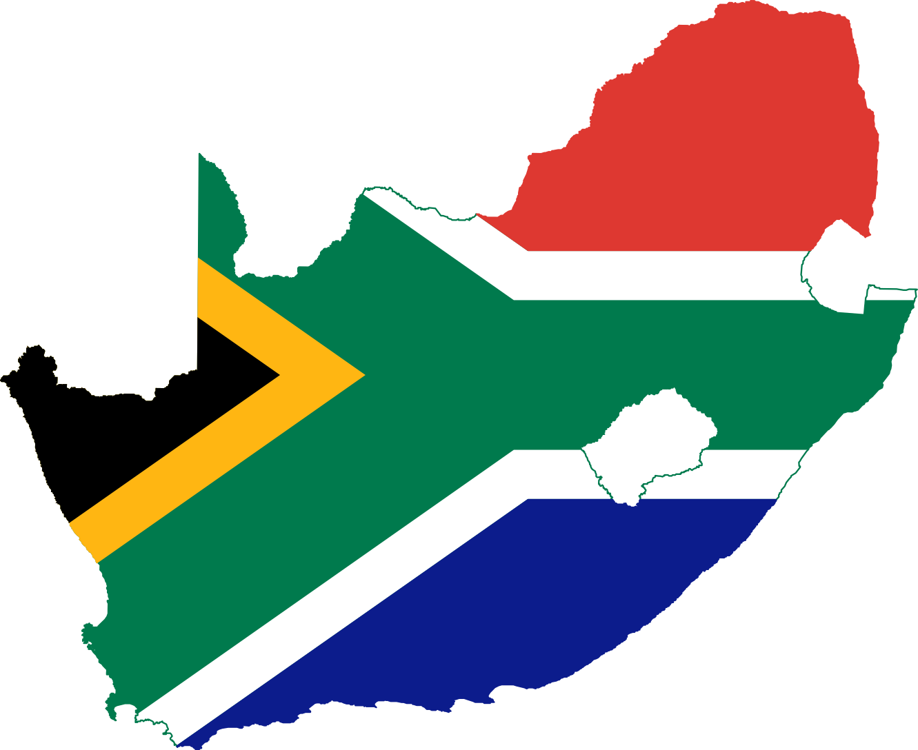 1331x1088 Collection Of South African Flag Clipart High Quality, Free