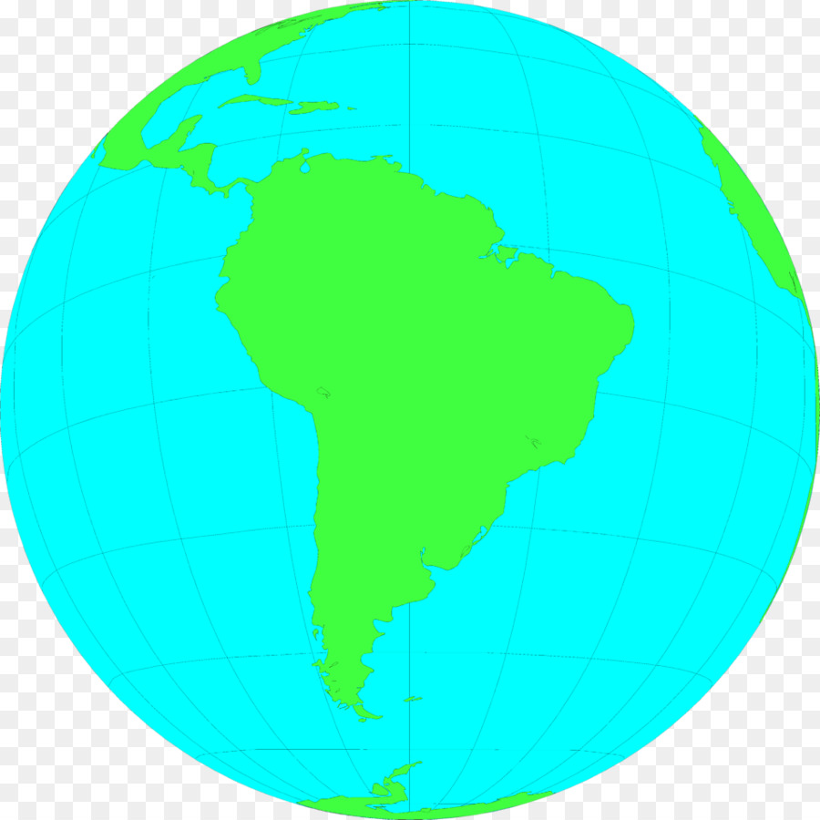 900x900 South America Latin America Earth Globe Clip Art