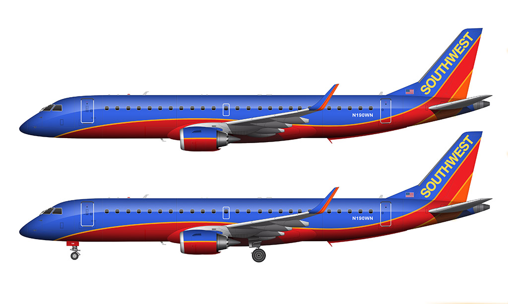 1024x614 Airplane Clipart Southwest