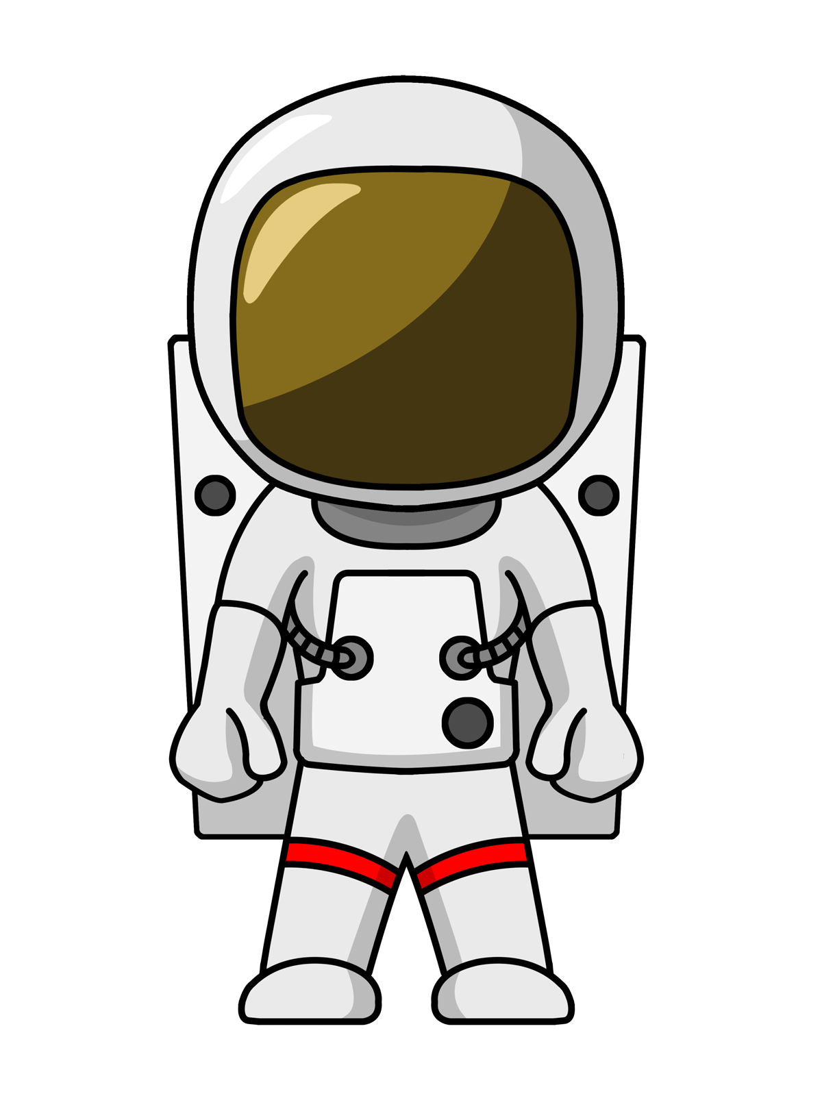 1200x1600 Astronaut Clip Art Images Free For Commercial Use 3d Print Ideas