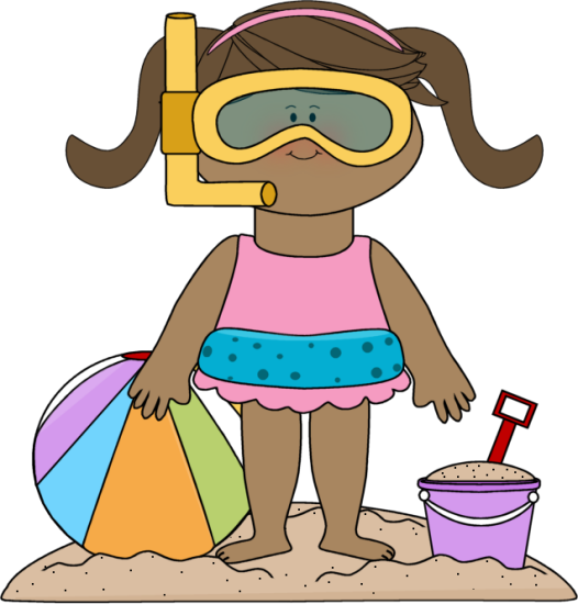 526x550 Summer Kids Clip Art