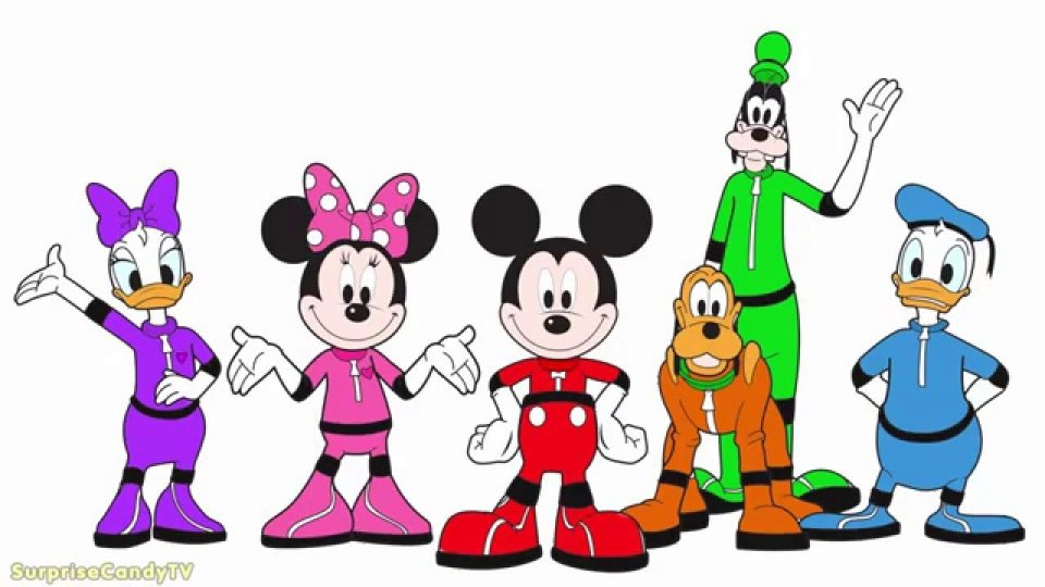 960x540 Mickey Mousese Space Adventure Coloring Pages For Kids Youtube