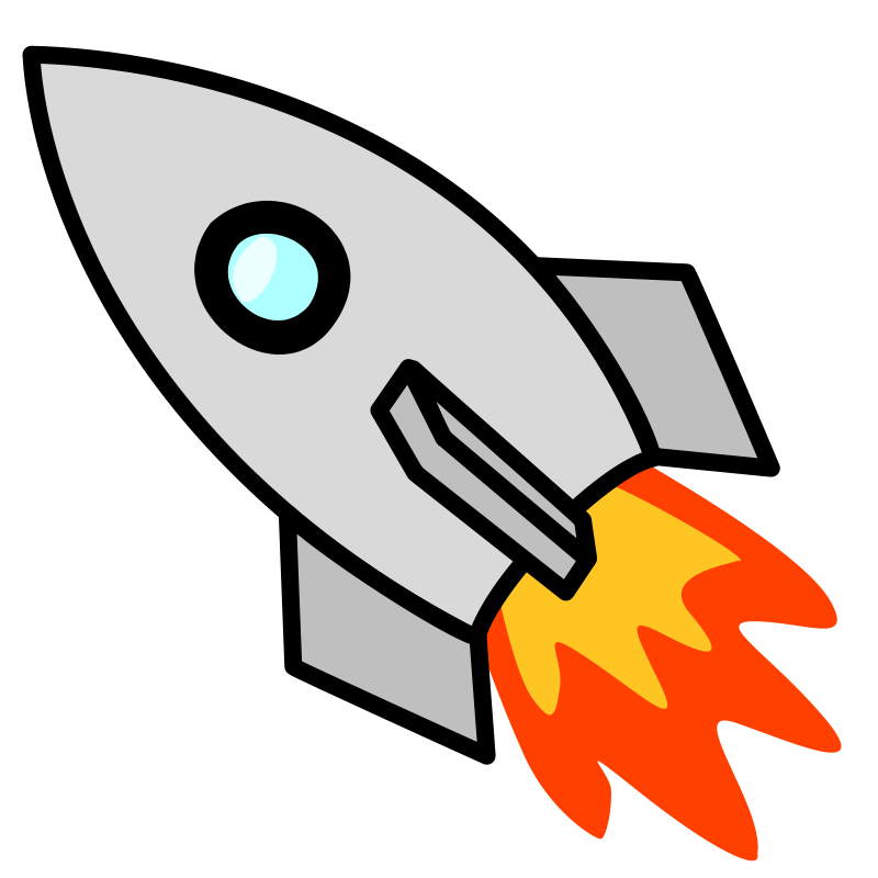 800x800 Quick And Fast Rocket Coloring Pages