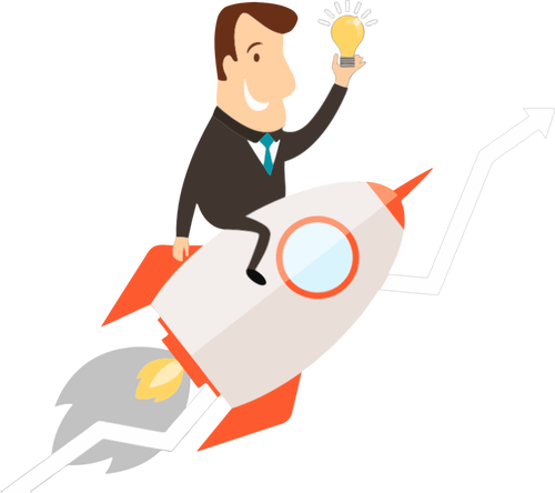 500x444 379 Animated Rocket Clipart Public Domain Vectors