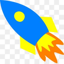 260x260 Rocket Spacecraft Cartoon Illustration